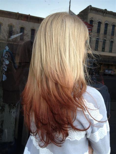 fo reverse ombre hair colors ideas