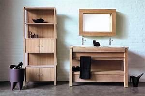 Salle De Bain Bois : salle de bain en bois ooreka ~ Teatrodelosmanantiales.com Idées de Décoration