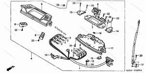 Honda Scooter 1999 Oem Parts Diagram For Speedometer