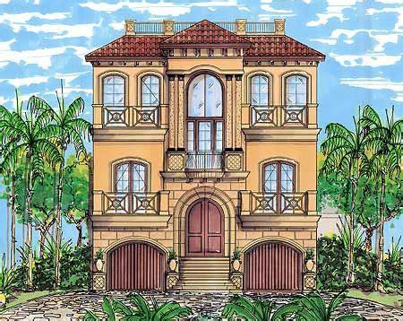 plan dn  story mediterranean grandeur beach house plans beach house floor plans