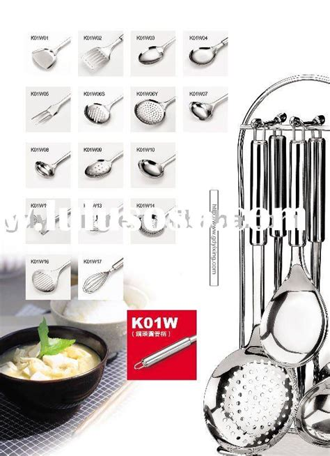 Kitchen Utensils Names And Uses  Home Design Ideas Essentials