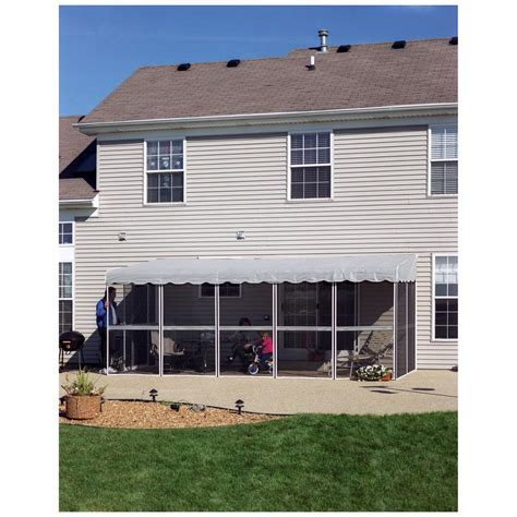 patio mate 7 panel screen enclosure home products 9 panel 45 patio mate screened