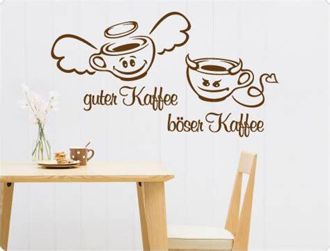 wandtattoo guter kaffee boeser kaffee  love wandtattoode