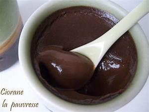 Creme Chocolat Sans Oeuf : cr me au chocolat sans oeuf ni farine la cuisine de quat ~ Nature-et-papiers.com Idées de Décoration