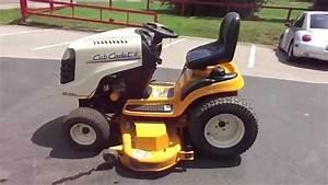 Used 54 U0026quot  Cub Cadet Lawn Tractor Mower 15 Hp Kohler Engine