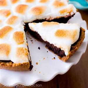 S'Mores Brownie Pie recipe | Chefthisup