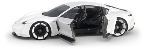 porsche conferma mission  la sua prima auto elettrica