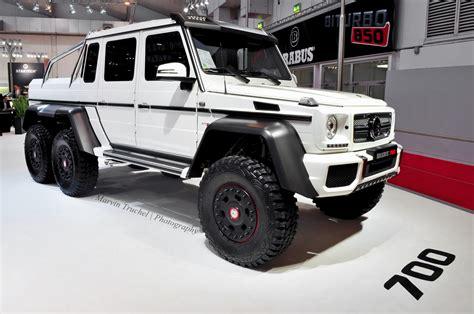 Mercedes G63 ///amg 6x6 Brabus 700