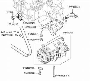 Td4 Air Conditioning Compressor  U0026 Belt