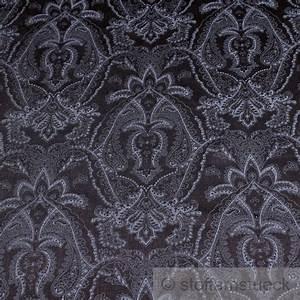 Schwarzer Stoff Kaufen : stoff viskose satin schwarz ornament anthrazit flie end fallend weich ebay ~ Markanthonyermac.com Haus und Dekorationen