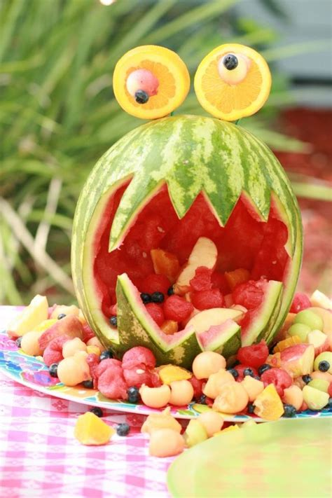 kindergeburtstag 2 jährige deko kindergeburtstag feiern deko ideen wassermelone