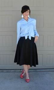 Casual Friday Link Up - Denim and Midiskirts - Two Thirty
