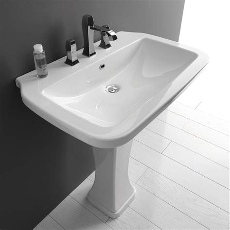 Kitchen And Bath Collection Website by Ws Bath Collections 75c Pedestal Bathroom Sink 29 5