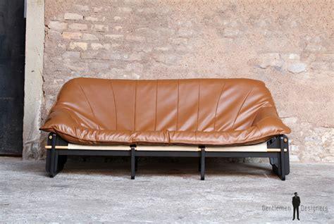 canapé alsace canapé 3 places entièrement restauré brun caramel