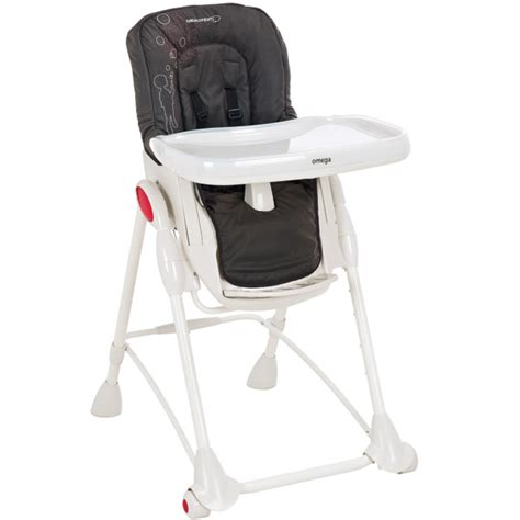 housse de chaise haute bebe housse chaise haute omega bébé confort poetic black le