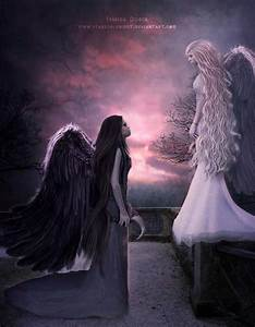 Dark Angel Quot... Angel And Evil Quotes