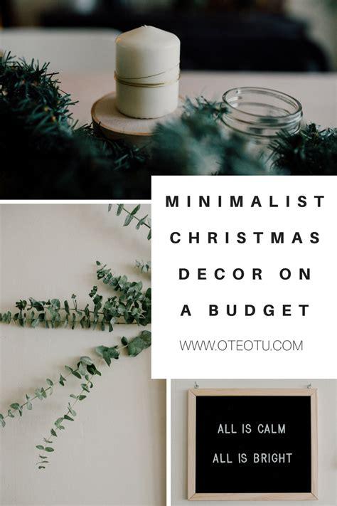 christmas decorating minimalist apartment decorations