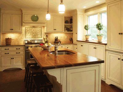 best wood for kitchen island cwp white shaker style center island wood top custom 7818