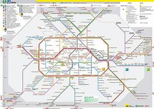 Berlin Bvg Plan : metro map of u bahn karte ~ Watch28wear.com Haus und Dekorationen