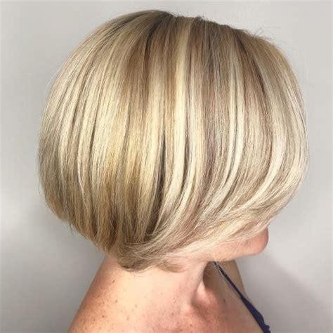 chic short bob hairstyles haircuts  women