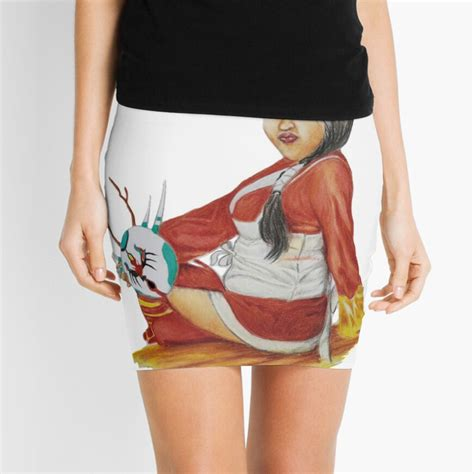 Akali League Of Legends Mini Skirt By Franciscoloria