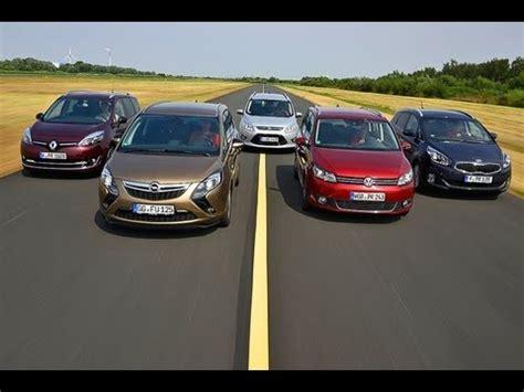 Ford Opel by Renault Grand Scenic Vs Opel Zafira Vs Ford Grand C Max