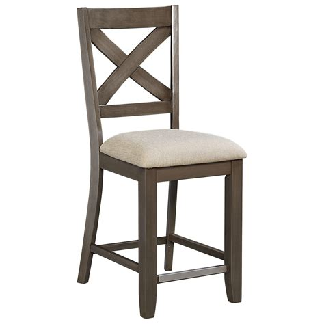 Stool Height by Counter Height Bar Stool With X Back By Standard Furniture