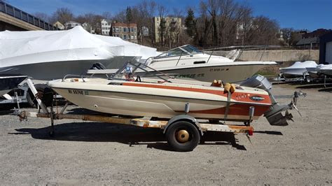 glastron v 178 silver starflight 1975 for sale for 3 500 boats from usa