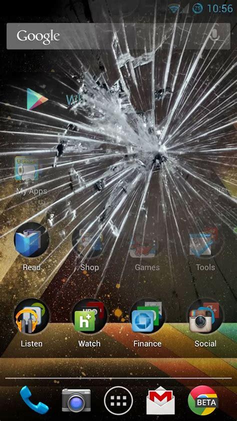 amazoncom  broken screen prank app appstore  android