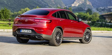 mercedes benz glc coupe  variants  australia