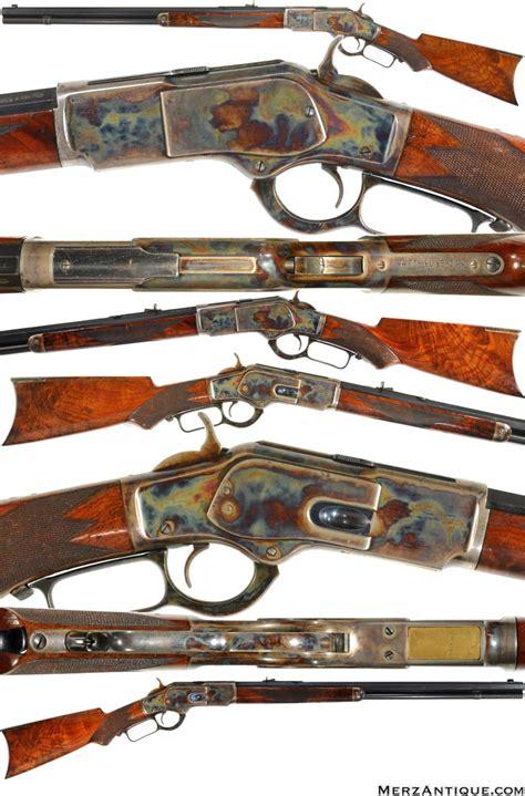 winchester 1873 3rd pistol grip deluxe rifle in 44 40 guns gun stuff guns