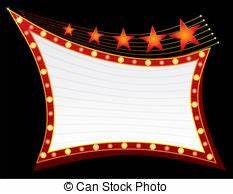 Theater marquee Stock Illustrations 1 657 Theater marquee