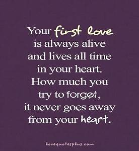 Miracle Of Love... Deep First Love Quotes