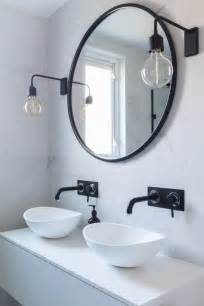 Black Industrial Bathroom Mirror by Best 20 Industrial Wall Lights Ideas On
