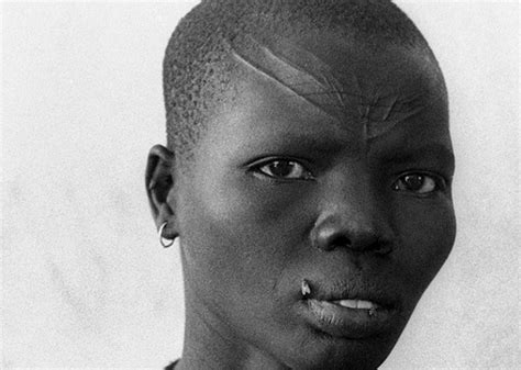 Dinka Tribe Markings