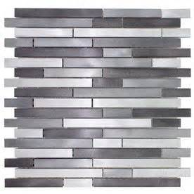 elida ceramica silver mix finish metal mosaic