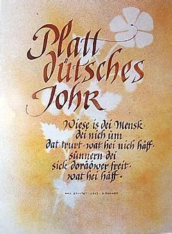 ausstellung boesel plattdeutsche sprueche  schoenschrift