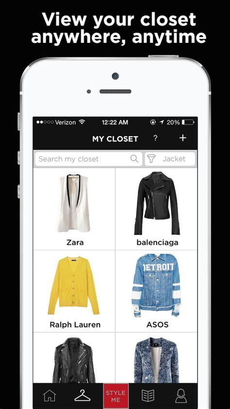 Touch Closet App by Closet Organizers App Stuff N Style Closet Organizer