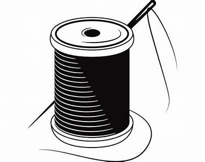 Needle Thread Seamstress Button Spool Sewing Svg