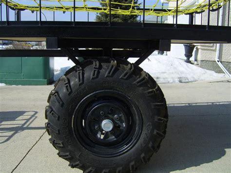 kind  trailer   pull   quad yamaha grizzly atv forum
