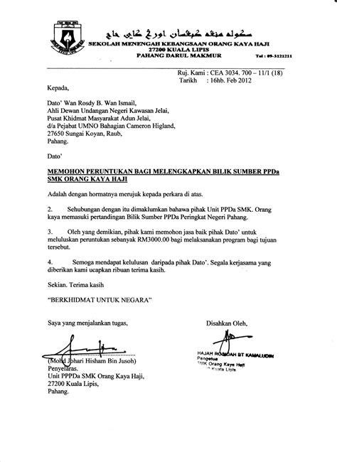 contoh surat kuasa rasmi contoh o