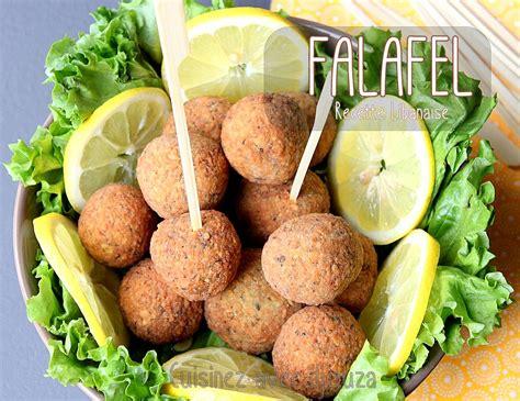 recette cuisine libanaise mezze falafels libanaises aux pois chiches recettes faciles