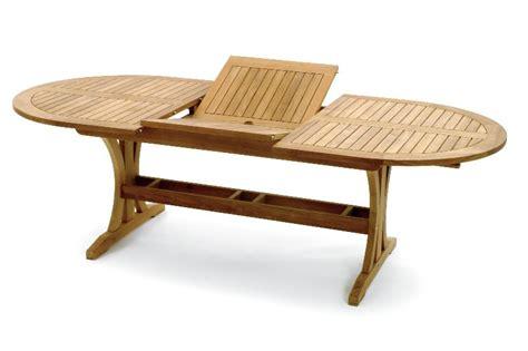table haute en teck table de jardin extensible en teck port offert salon exterieur pur teck table ovale extension teck
