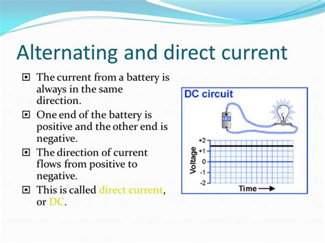 Electric Power, AC, and DC Electricity   ppt download