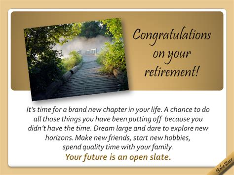 future   open slate  retirement ecards greeting cards