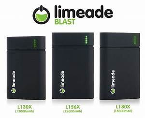 Meet Limeade Blast - Charge the iPhone 5 for 12 Times