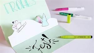 Pop Up Weihnachtskarten : diy anleitung pop up karte basteln zu weihnachten mit kindern weihnachten feiern werbung ~ Frokenaadalensverden.com Haus und Dekorationen