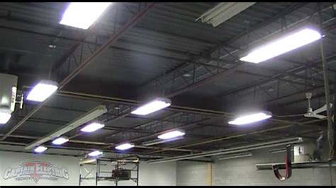 t5 warehouse lighting upgrade