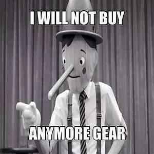 Running Humor #23 I will not buy anymore gear.