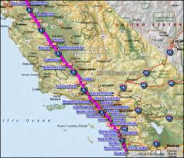 Highway Map Southern California